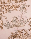 Lavish Crown Hand Painted Art
