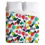 Lazy Day Floral Duvet Cover