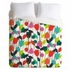 Lazy Day Floral Lightweight Duvet Cover