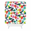 Lazy Day Floral Shower Curtain