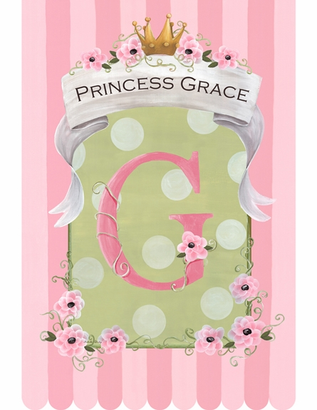 Le Petite Princess Personalized Wall Hanging