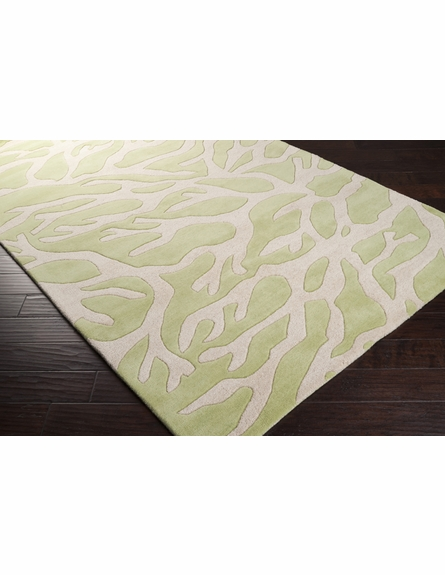 Leaf Coral Escape Rug