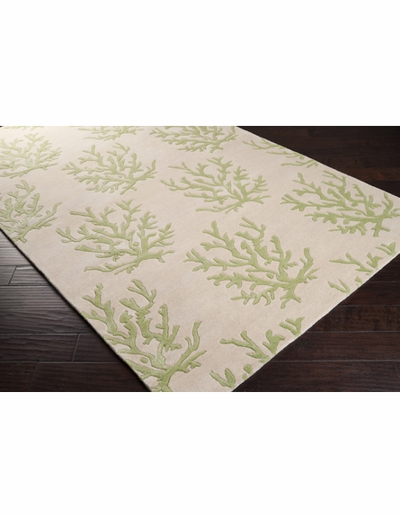 Leaf Coral Reef Escape Rug I