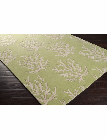 Leaf Coral Reef Escape Rug II