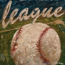 League Baseball Canvas Wall Art