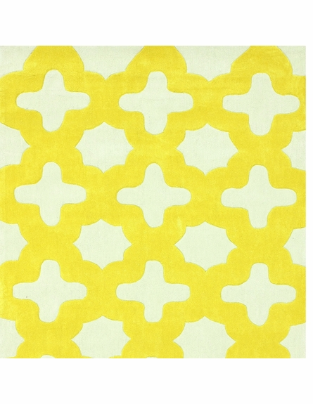 Leah Rug in Yellow