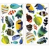 Lenticular Fish Peel & Stick Wall Decals