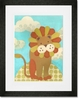 Leo Lion Framed Art Print