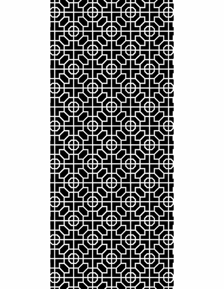Less is Moorish Floor Mat