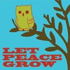 Let Peace Grow Canvas Reproduction