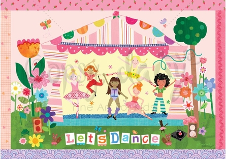 Let's Dance Placemat
