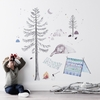 Let's Go Camping Fabric Wall Decals