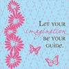 Let Your Imagination Be Your Guide Canvas Reproduction