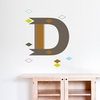 Letter D Wall Decal