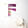 Letter F Wall Decal