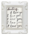 Letter For You Decorative Framed Art Print