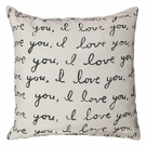 Letter For You Throw Pillow