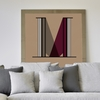 Letter M Wall Decal