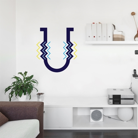 Letter U Wall Decal