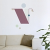Letter V Wall Decal