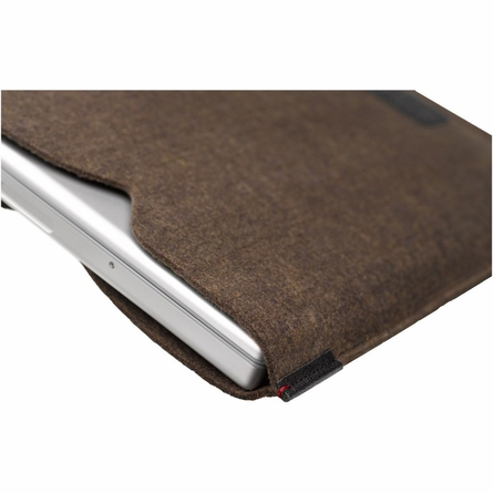 Lexicon Laptop Sleeve in Heathered Black