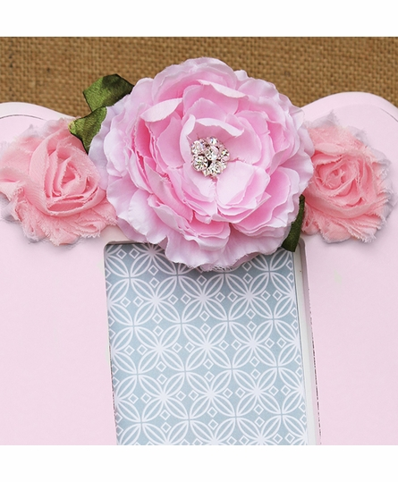 Libby Pink Scalloped Picture Frame