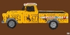 License Plate Pick Up Truck Canvas Wall Art