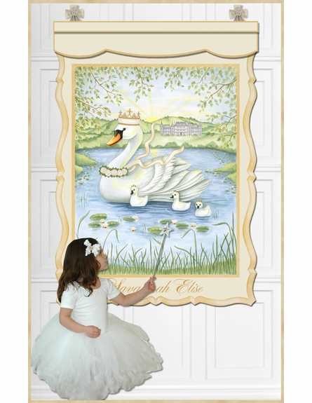 Life Is But A Dream Canvas Wall Hanging in Ivory Bisque