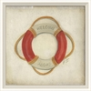 Life Preserver Framed Wall Art