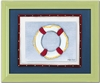 Life Ring Personalized Framed Canvas Reproduction