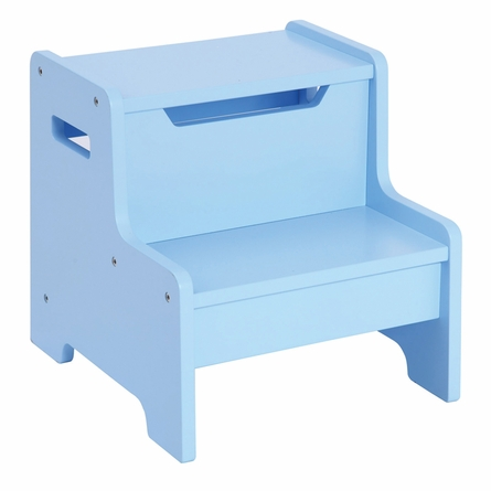 Light Blue Personalized Step Stool