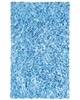 Light Blue Shaggy Raggy Rug