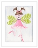Light Brown Fairy Framed Canvas Reproduction