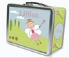 Light Brown Hair Fairy Personalized Lunch Box