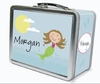 Light Brown Hair Mermaid Personalized Lunch Box