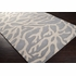 Light Gray Coral Escape Rug