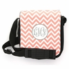 Light Pink Chevron Monogram Sling Bag