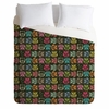 Light Sherbet Owls Luxe Duvet Cover