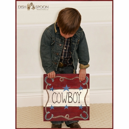 Lil' Buckaroo Canvas Reproduction
