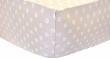 Lil Pink Dottie Crib Sheet $(+40.00)
