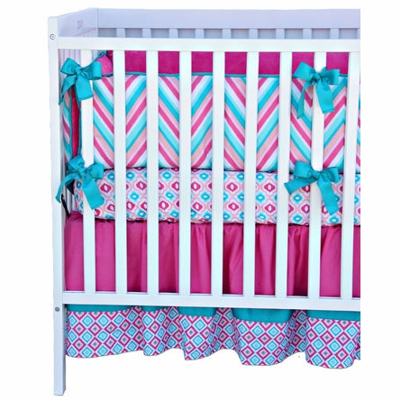 Lila 3-Piece Crib Bedding Set