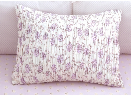 Lilac Arpege Crib Bedding - 3 Piece set