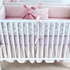 Lilac Arpege Crib Bedding Set