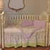 Lilac Garden Crib Bedding