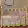 Lilac Garden Crib Bedding Set