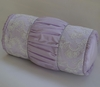Lilacs & Lace Neckroll Pillow