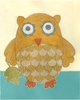 Lillian's Owl Lovie I Canvas Reproduction