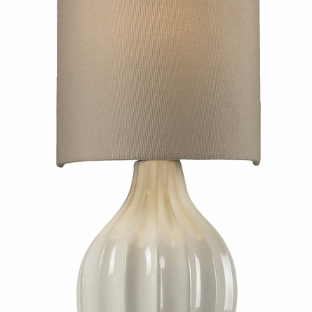 Lilliana Sconce In Cream And Aged Bronze