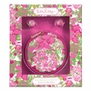 Lilly Pulitzer Beach Rose Earbuds with Pouch