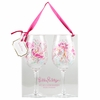 Lilly Pulitzer Jellies Be Jammin' Acrylic Wine Glass Set